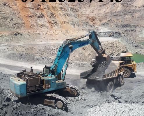 تعمیرات ماشین الات راهسازی ومعدنی کوماتسو