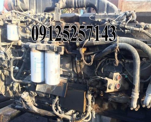 تعمیر موتور دامپ تراک کوماتسو