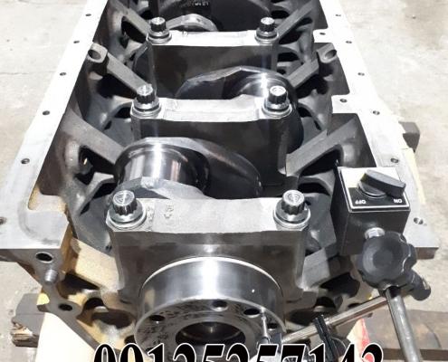 تعمیر موتور 140 کوماتسو با ابزار الات به روز موتور لودر1-500