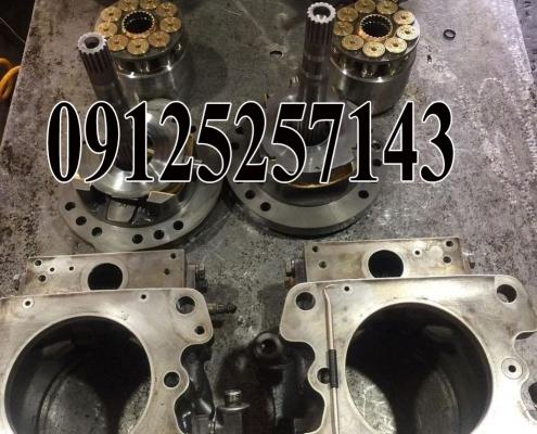 تعمیر پمپ هیدرولیک Hpv 95 +95 بیل مکانیکی کوماتسو